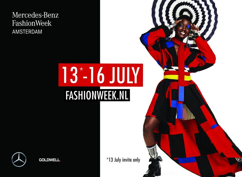 Fashionweek juli 2017 campagnebeeld