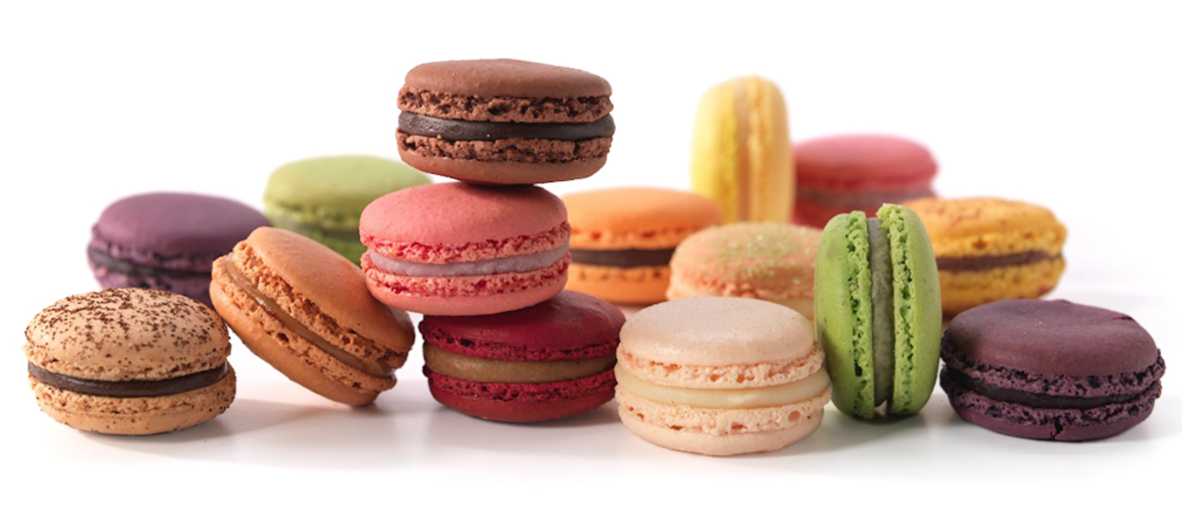 Macarons in alle kleuren van de Amsterdamse patisserie Linnick