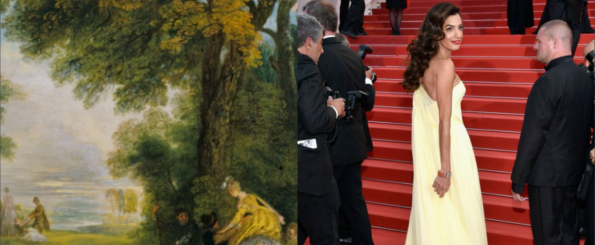 Watteau & Amal Clooney